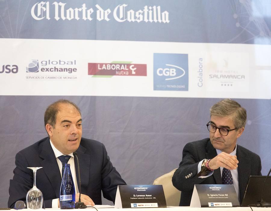 El presidente Nacional de ATA participa en el Foro Económico de El Norte de Castilla