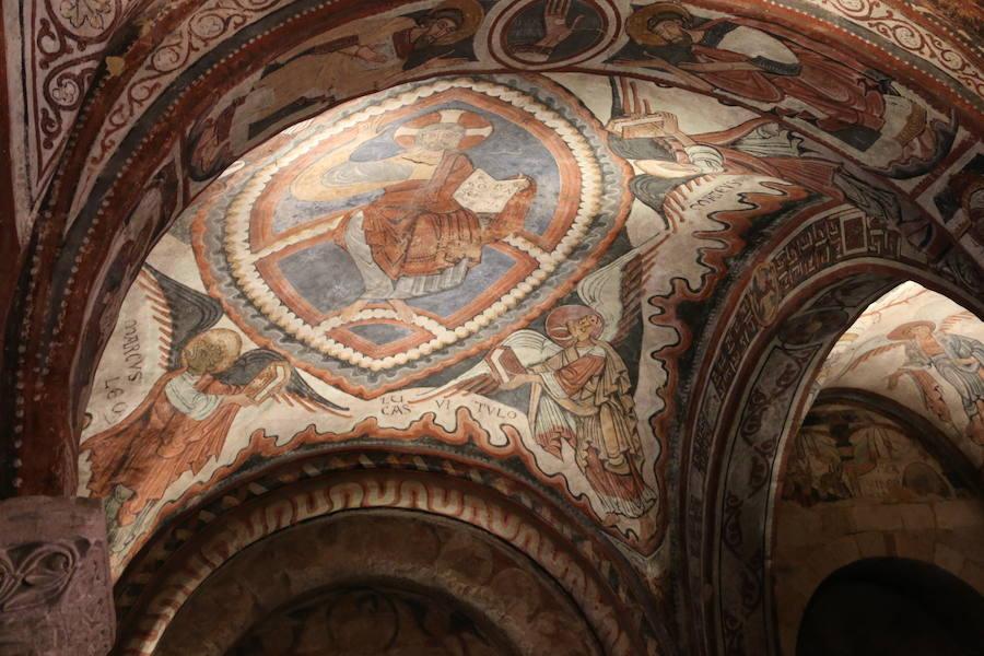 Imágenes de la nueva iluminación de San Isidoro