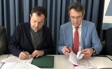 La Diputación firma dos convenios por 240.000 euros para la mejora del patrimonio eclesiástico de la Diócesis de Astorga