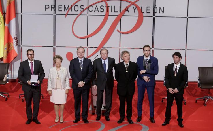 Entrega de los Premios Castilla y León 2017