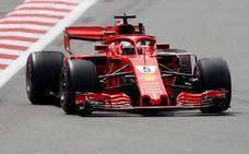 Vettel pisa terreno resbaladizo en Bakú