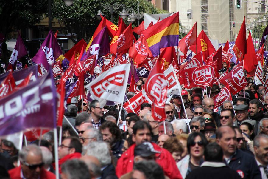 Manifestación del 1 de mayo en León