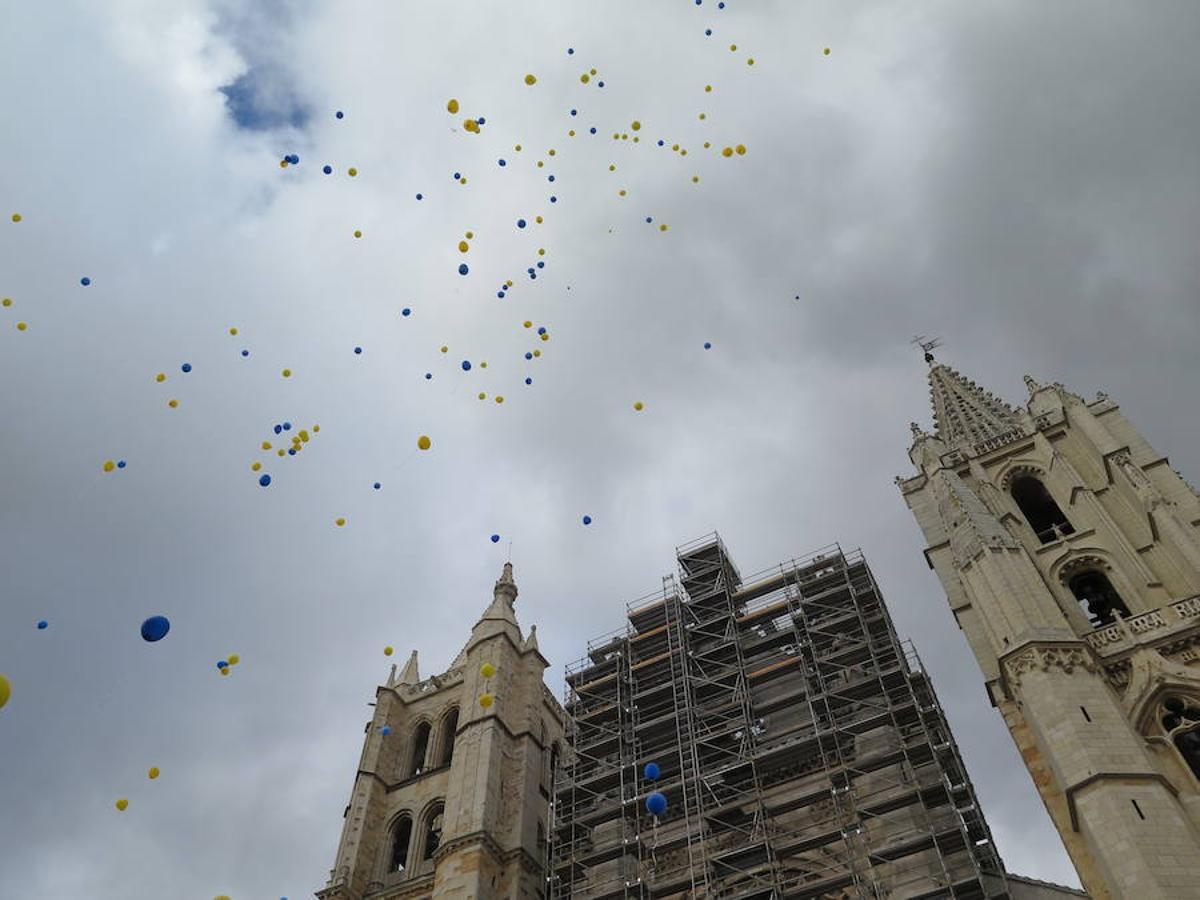 Suelta de globos del Colegio Santa Teresa