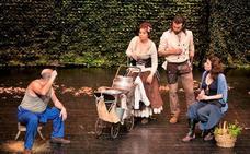 La Muestra de teatro Universitario se inicia con 'Aquí en la Tierra' de Teatro el Mayal