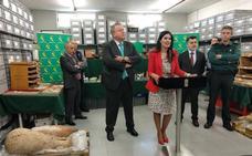 Recuperan unas 10.000 piezas arqueológicas en un domicilio privado de Murcia