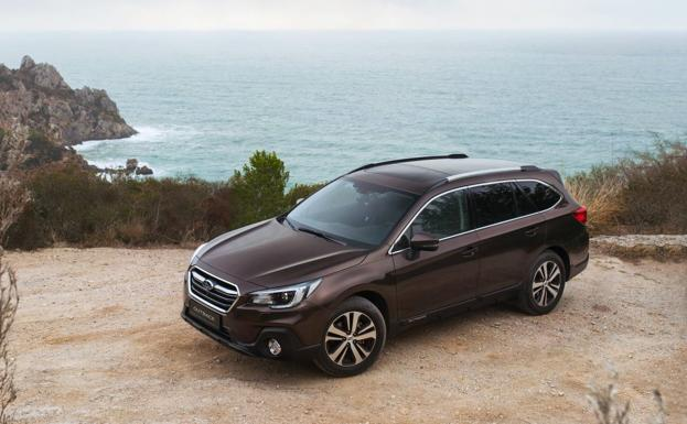 Subaru Outback Executive Plus S, tope de gama