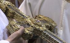 La 'Lignum Crucis' de santo toribio de Liébana regresa a su origen