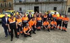 La Junta cede tres vehículos de Protección Civil a las agrupaciones de Castropodame, Ponferrada y Villafranca
