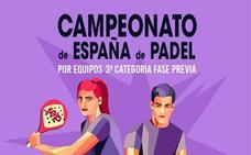 Tenis5Pádel acoge la fase previa del Campeonato de España de tercera categoría