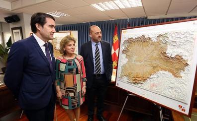 Castilla y León estrena mapa autonómico con más de 4.000 ejemplares para ayuntamientos, centros educativos y bibliotecas