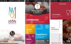 'León, manjar de reyes', en una única App