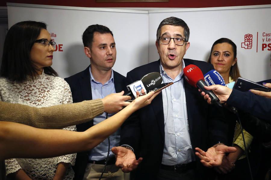 Patxi López participa en una Asamblea Abierta en León