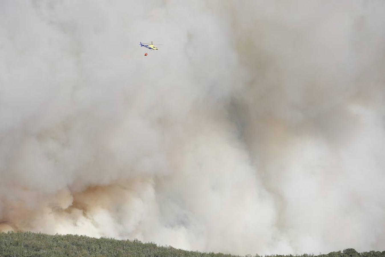 Incendio en Santa Colomba de Curueño