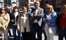 Olegario Ramón presenta su precandidatura a las primarias del PSOE en Ponferrada