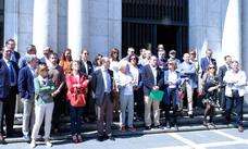 Jueces y fiscales de Castilla y León se plantan en una huelga histórica contra el «autismo» político