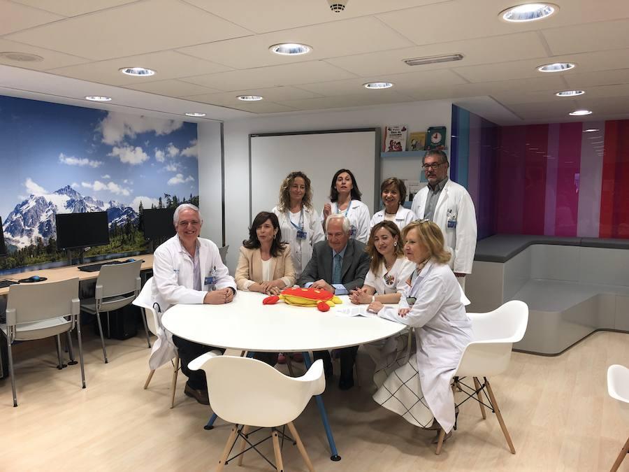 El Hospital de León inaugura el Aula de las Emociones
