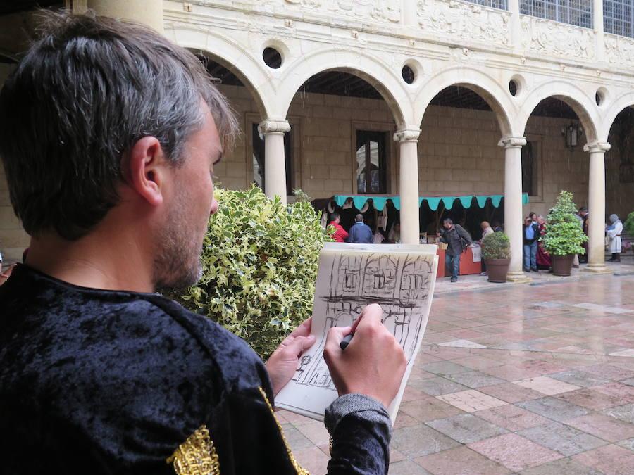 Así es el Mercado Medieval del Palacio de los Guzmanes