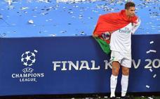Cristiano Ronaldo: «Fue muy bonito jugar en el Real Madrid»