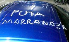 Detenido por acosar y hacer pintadas ofensivas en el coche de una mujer en San Andrés del Rabanedo