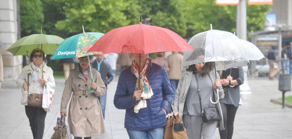 Junio comienza con lluvias y tormentas en Castilla y León