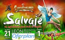 Il Circo Italiano presenta en León su nuevo espectáculo, «Salvaje»