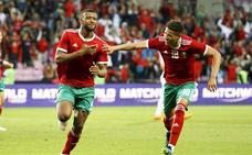 Marruecos mejora y remonta a Eslovaquia