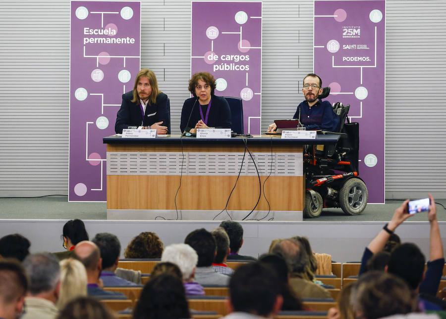 Podemos inaugura en León la Escuela Permanente de Cargos Públicos