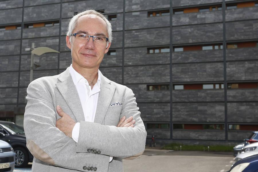 El presidente del Eren, Ricardo González Mantero