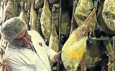 La producción de jamones de pata negra en Castilla y León crece el 235% en cuatro años