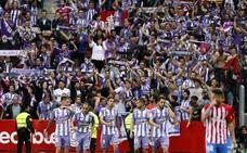 El Valladolid vuelve a ganar y peleará por el ascenso a Primera