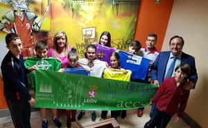 El colegio Leonés «A Santiago contra el Cáncer»