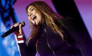 Amaia Montero, acusada de salir a cantar 'borracha'