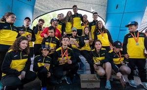 El CD Leitariegos se corona subcampeón nacional de alpino en línea