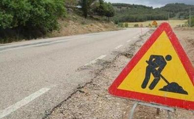 La Diputación destinará más de dos millones de euros a las obras de mejora de tres carreteras de la red provincial