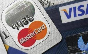 Los robos de tarjetas bancarias crece un 13% en Castilla y León, mientras que caen a nivel nacional
