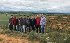 El PSOE exige a la Junta el «rescate» de la tebaida del yacimiento de Lancia