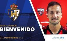 Luisma Villa, tercer fichaje de la Deportiva