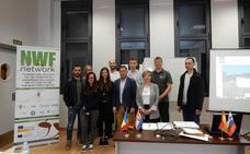 Los Alumnos Erasmus del proyecto transnacional NWF Network visitan Cuadros