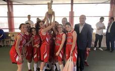 El Colegio Leonés se lleva el Torneo de Minibasket femenino