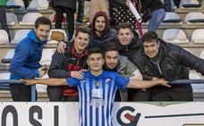Saúl Crespo renueva su contrato con la SD Ponferradina