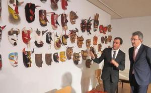 Las 'mascaradas portuguesas' se exponen en el Museo de Mansilla de las Mulas gracias al intercambio cultural entre León y Braganza
