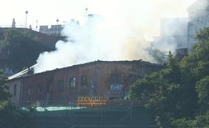 Intoxicado por inhalación de humo un hombre de 56 años en una vivienda en Ponferrada