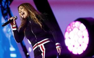 Nuevo percance de Amaia Montero durante una actuación en directo