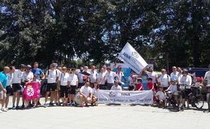 La II edición de Solidarios Non Stop hace escala en León, en su camino hacia Santiago de Compostela