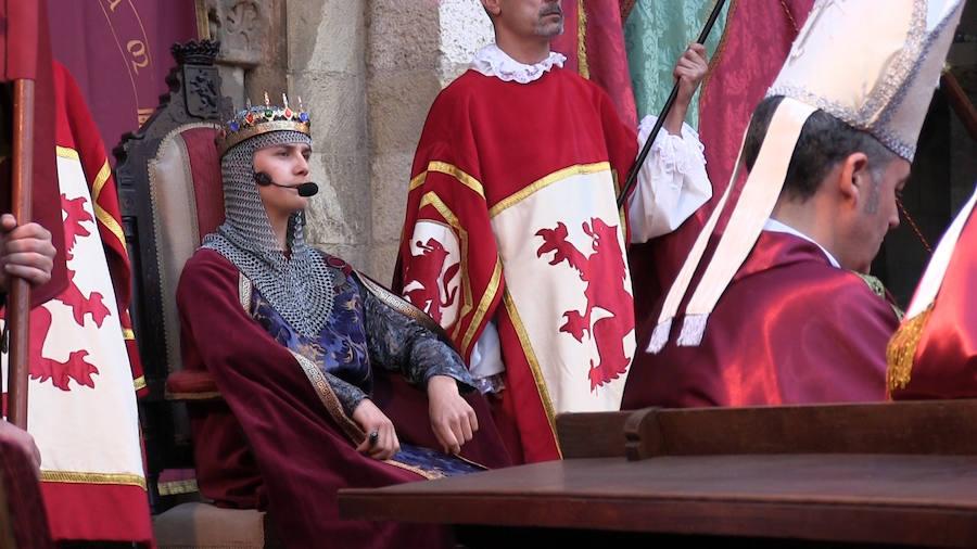 Recreación de las Cortes de 1188