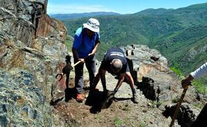 Promonumenta viaja a la Tebaida para recuperar los canales romanos del Valle del Oza