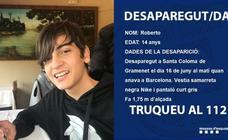 Los Mossos buscan a un menor de 14 años desaparecido en Santa Coloma