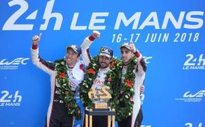 Fernando Alonso conquista su gran sueño de Le Mans