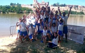 El CD SOS La Bañeza pisa el podio en Zamora