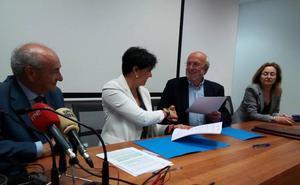 Imfe y Secot firman un nuevo convenio formativo para promover la actividad empresarial en la comarca